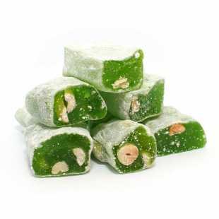 Лукум-фитиль с ароматом киви и арахисом, 200 г