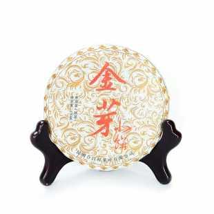 Шу пуэр Цзинь Шань Сяо Пин, 2013 г, 100 гр.